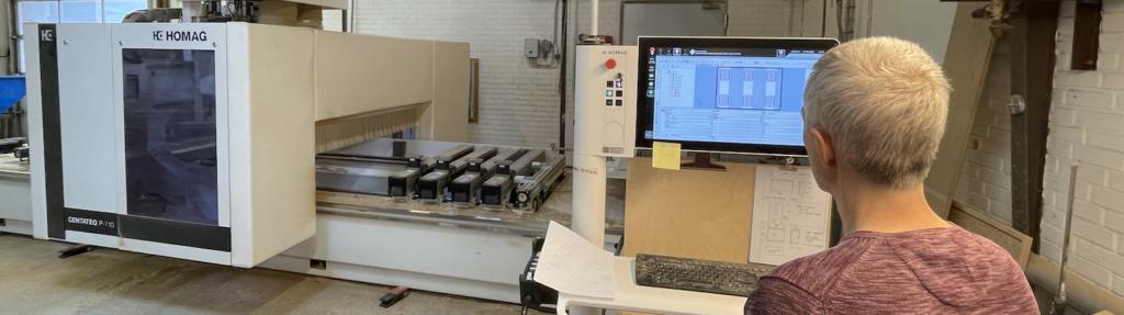 Maskinsnedker med CNC erfaring